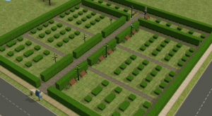 The Sims 2 Pleasantview Cemetery