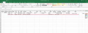 Sims 2 Standard Spreadsheet