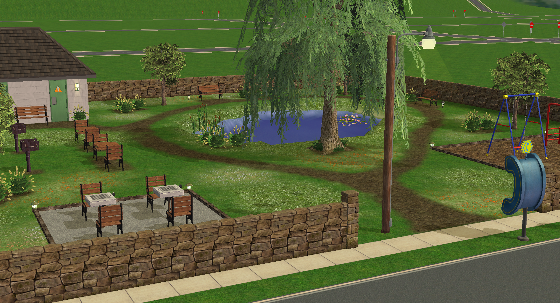 Another view of Linden Park.