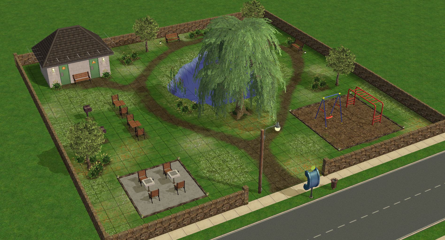 Sims 2 Linden Park Download