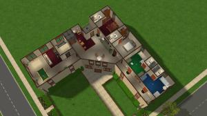 Pleasantview Retirement Home Top Floor Detail