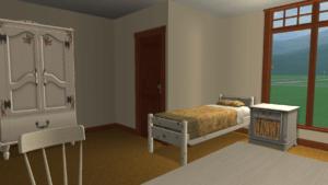 Retirement Home Bedroom