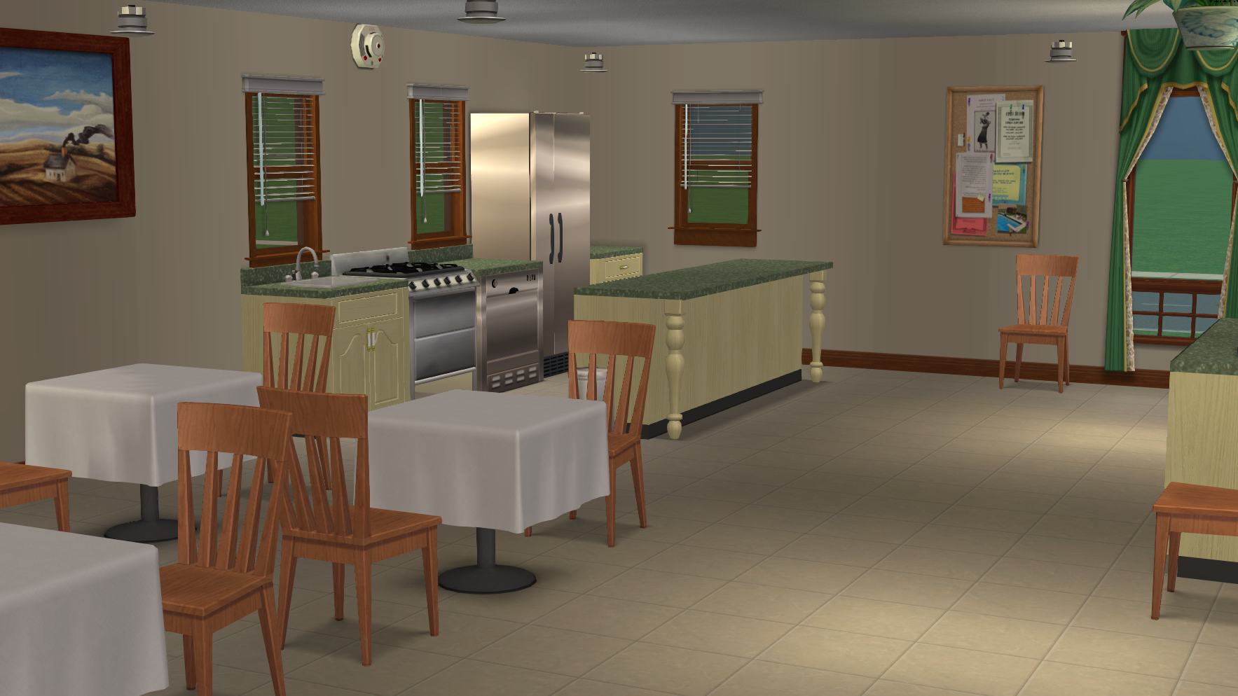 Retirement Home Kitchen