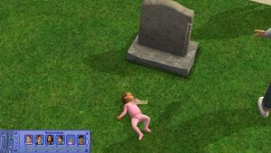 Create a Baby with the Sims 2 Tombstone of Life and Death