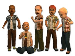 Fake Peeps Sims 2 Toddler CC