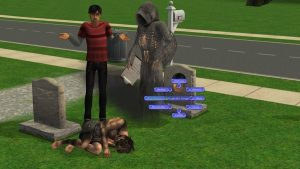 Have Baby with Grim Reaper SIms 2
