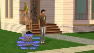 Sims 2 Anthony Clone with Tombstone of L and D