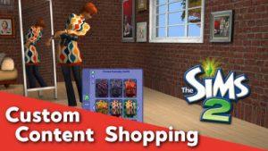 Sims 2 CC Shopping - 01_07_2019