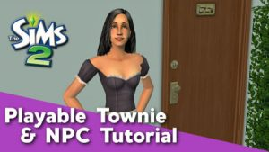 Sims 2 - Playable Townies