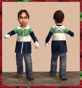 Sims 2 Toddler CC - Outerwear 2