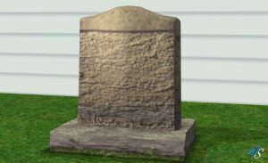 Sims 2 Tombstone of Life and Death