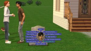 Sims 2 Tombstone of Life and Death - Create a New Sim