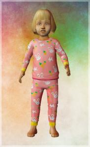 The Sims 2 Toddler CC Alienpod