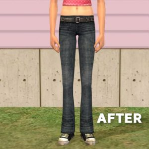 Sims 2 Default Replacement Jeans