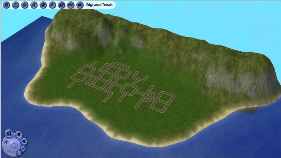 Edgewood Small Sims 2 Terrain