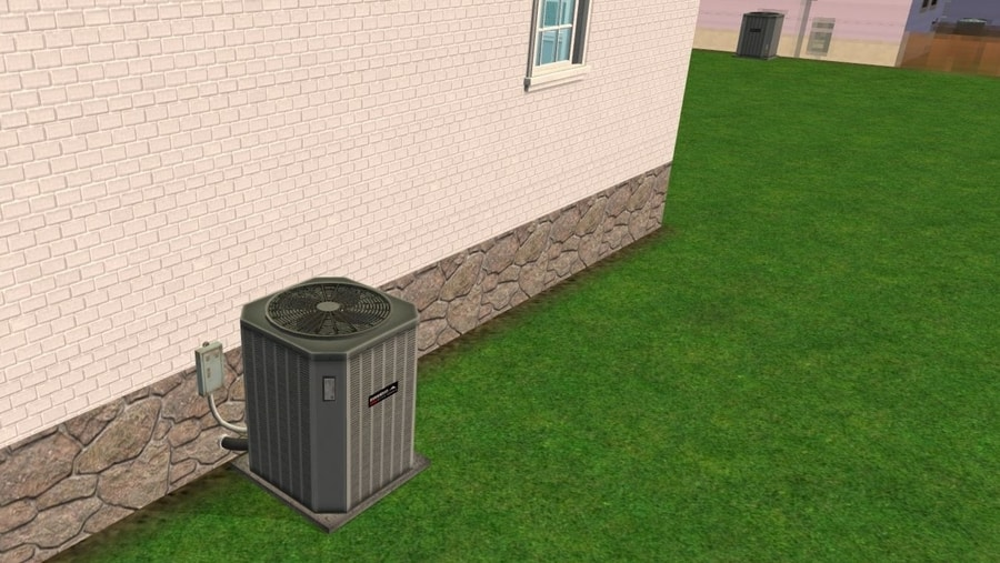 Sims 2 Central Heat and Air Unit