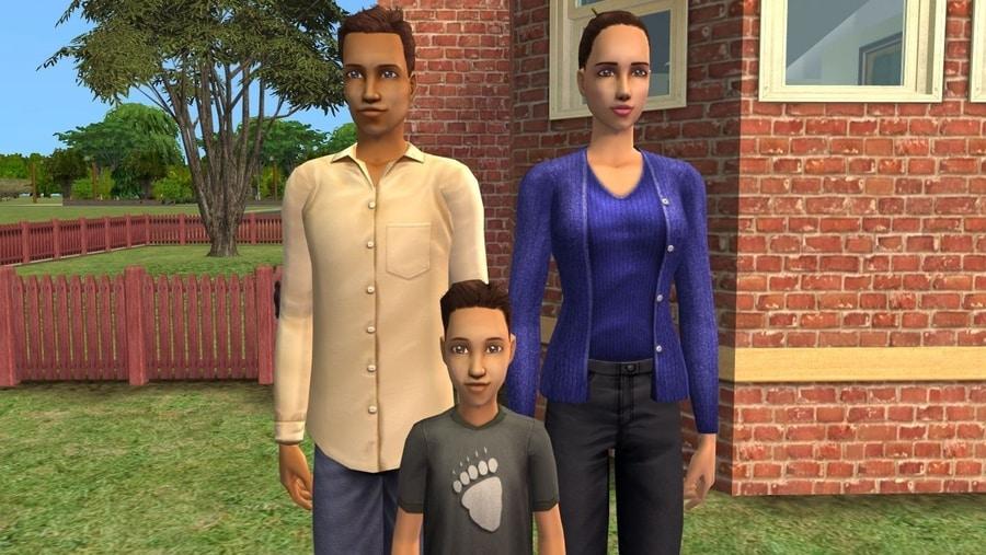 Sims 2 Fairplay Burke Family