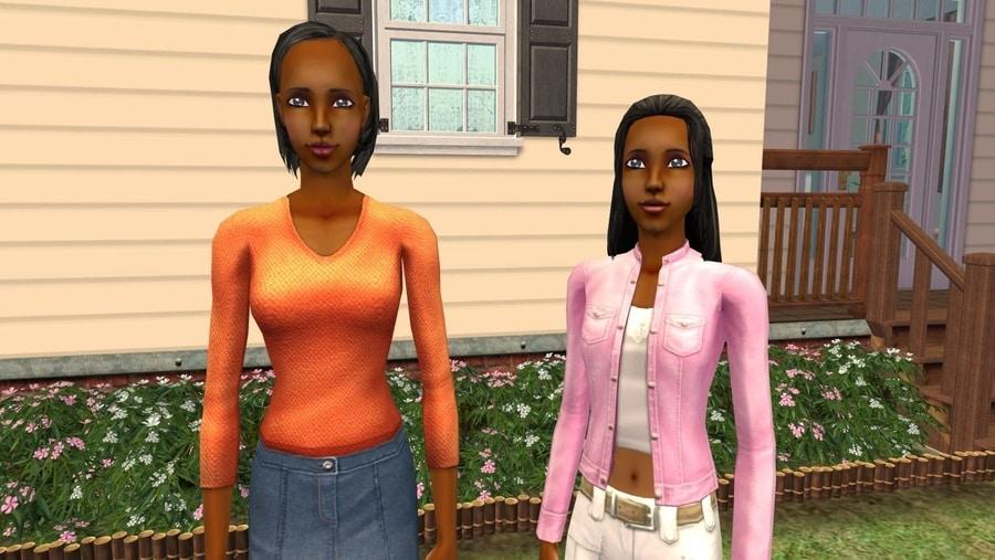 Sims 2 Fairplay Draper Family