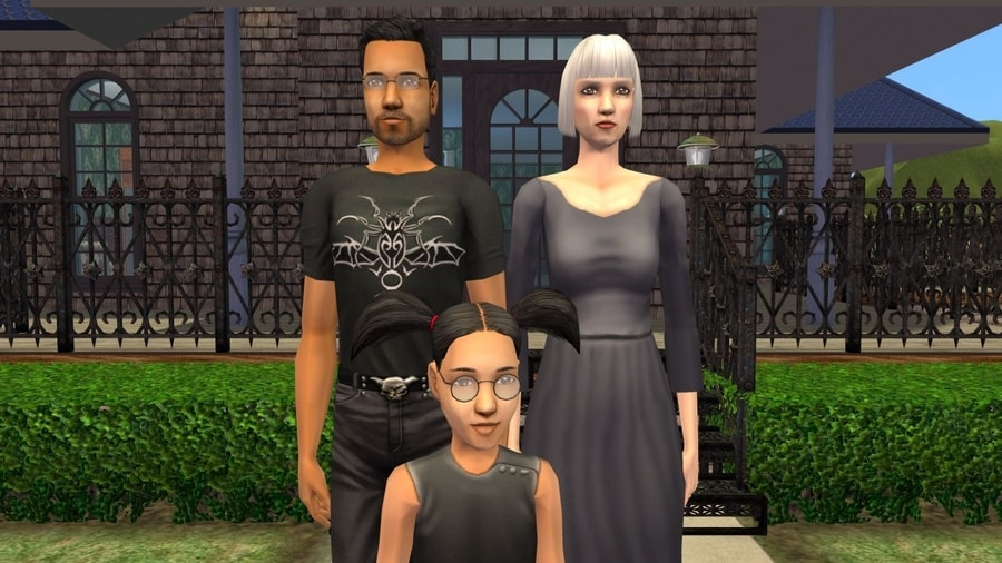 Sims 2 Fairplay Graves Family