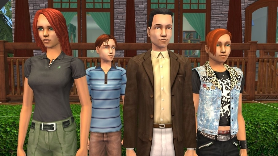 Sims 2 Fairplay Oakley Family