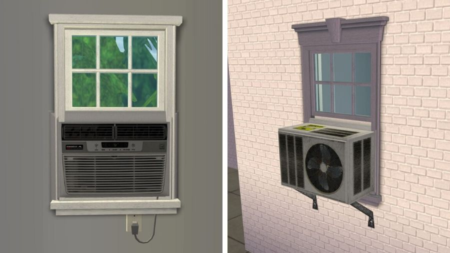Sims 2 Window Air Conditioner