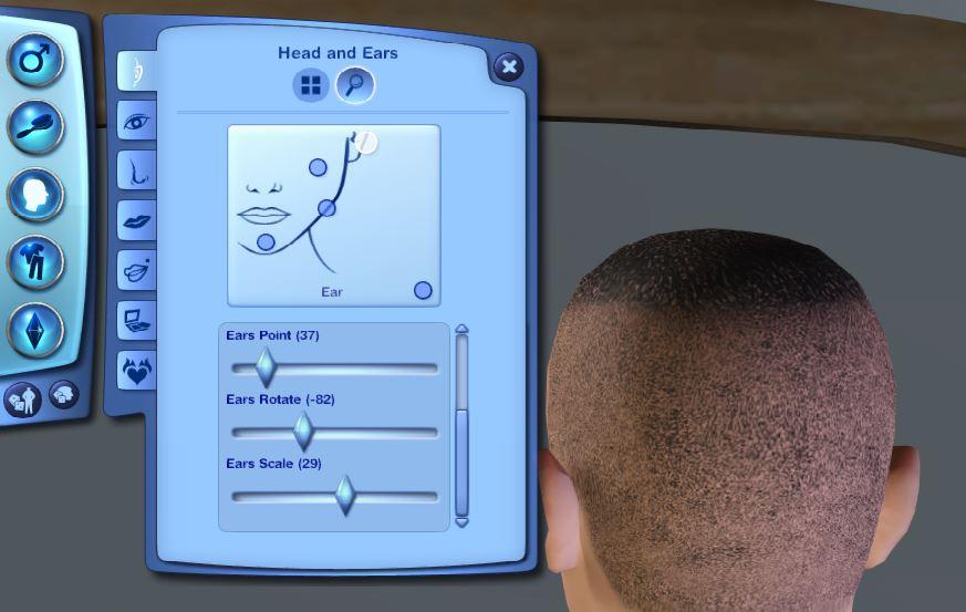 Sims 3 CAS Unique Sims