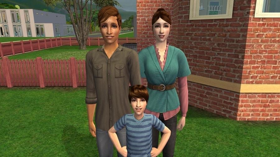The Sims 2 Fairplay Burke Family CC