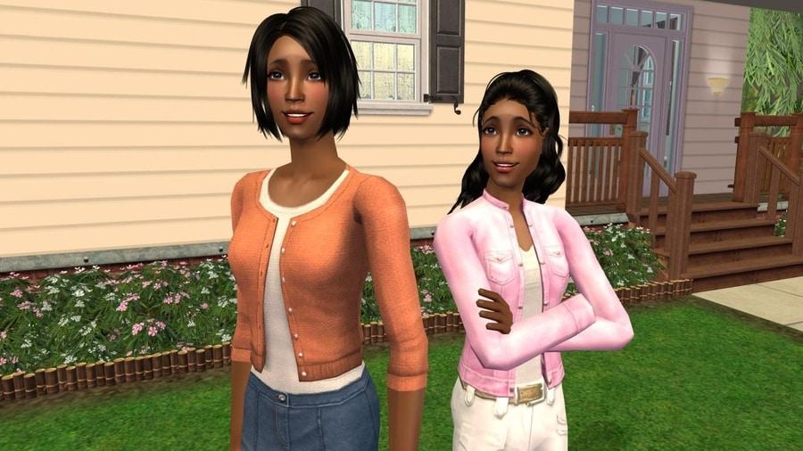 The Sims 2 Fairplay Draper Family CC