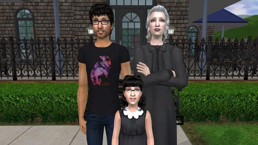 The Sims 2 Fairplay Graves Family CC