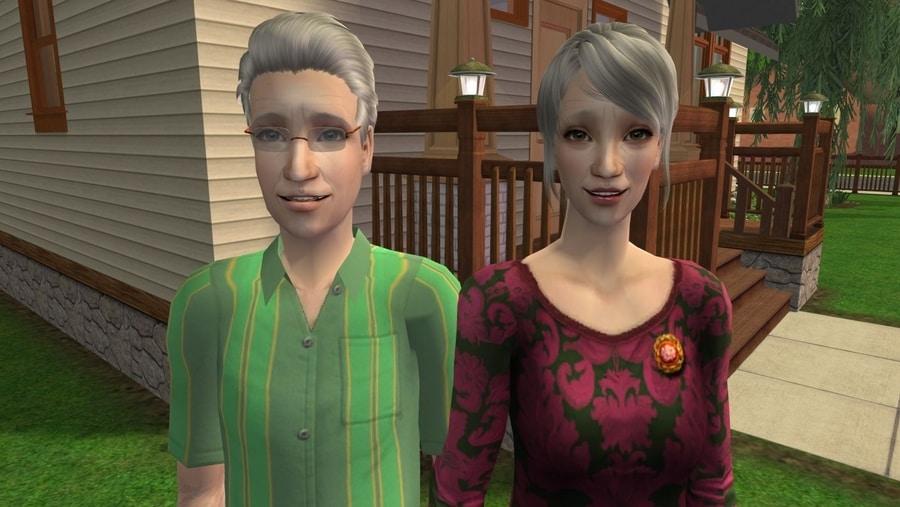 The Sims 2 Fairplay Oakley Family 2 CC