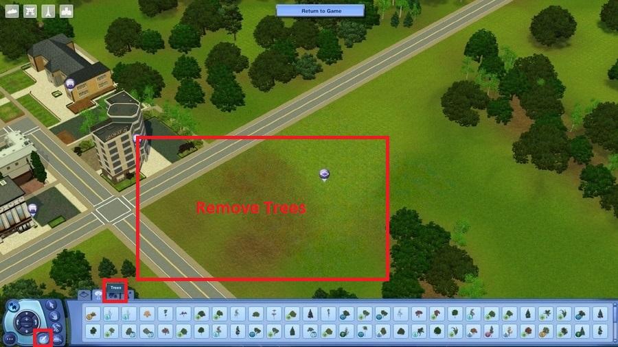 Remove Trees in World Editor