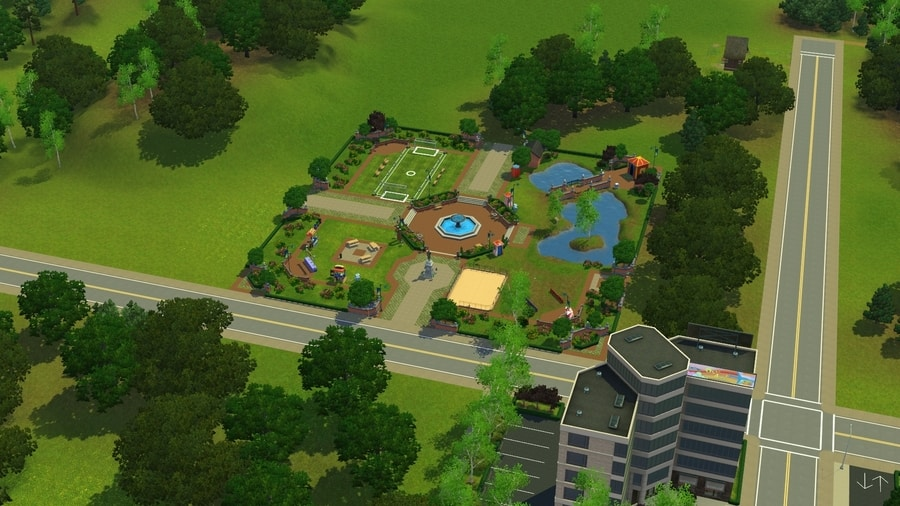 Sims 3 Pleasantview Festival Grounds
