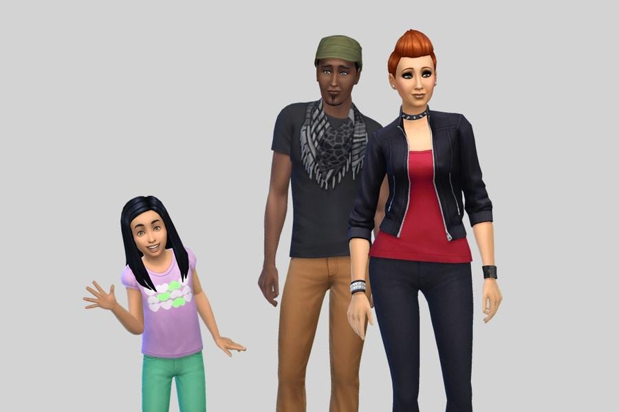 Sims 4 Pleasant Dreamer Family