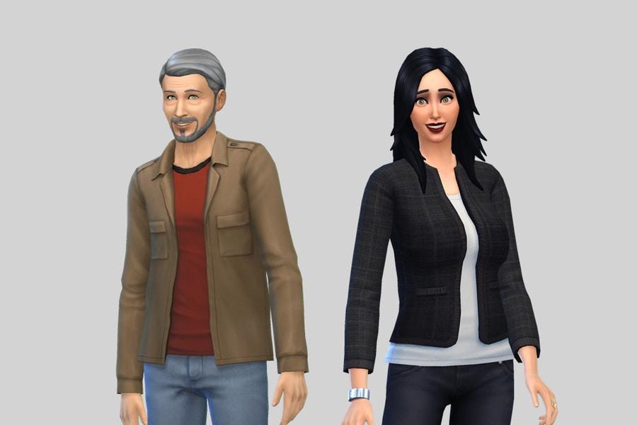 Sims 4 Pleasant Family