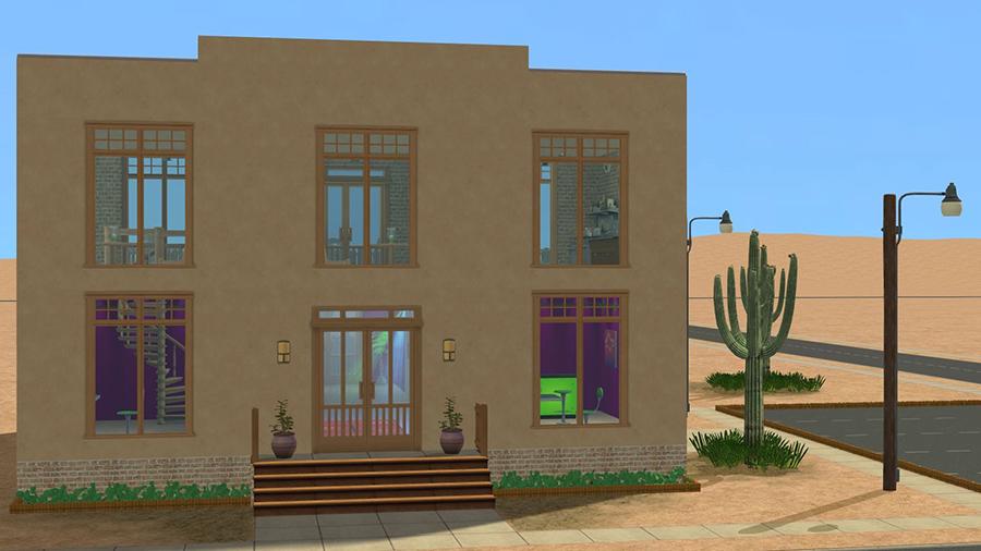 Sims 2 Strangetown Restaurant Bar