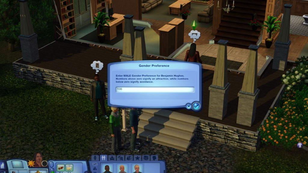 Sims 3 Choosing Gender Preference
