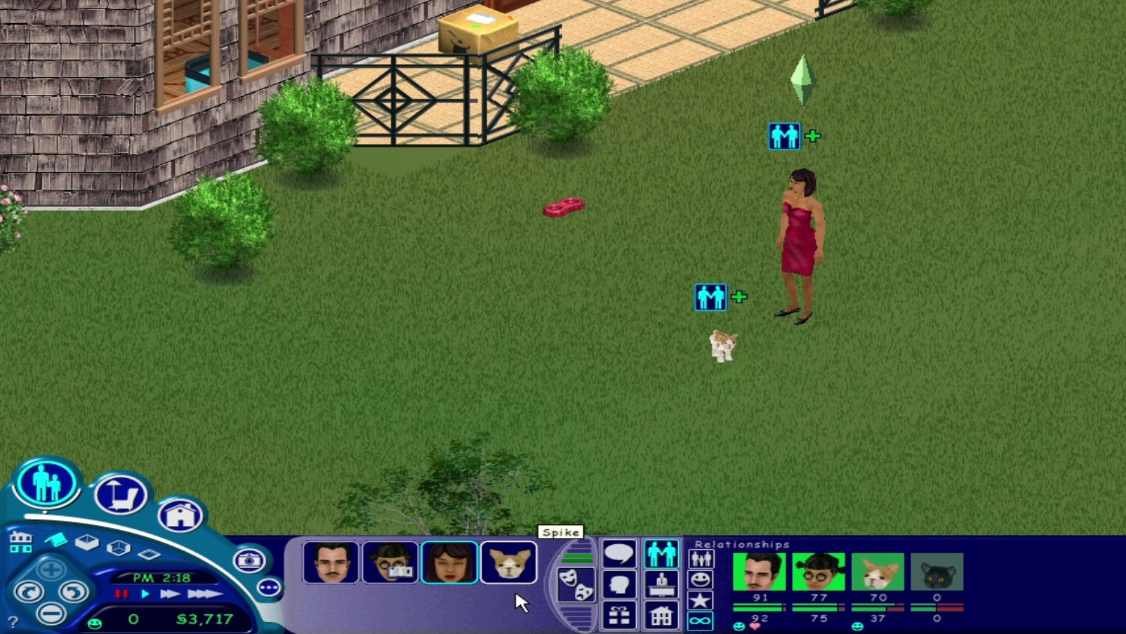 Sims 1 Adopt Stray Dog