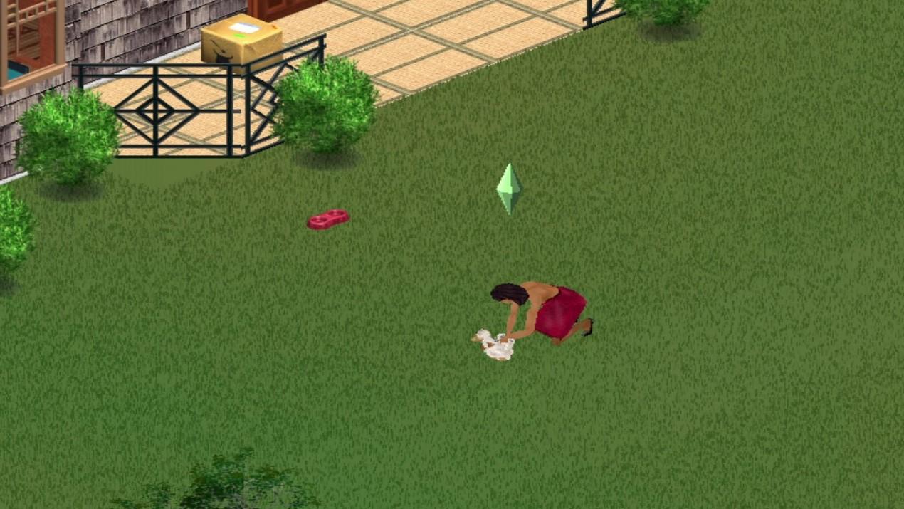 Sims 1 Pet Stray Dog