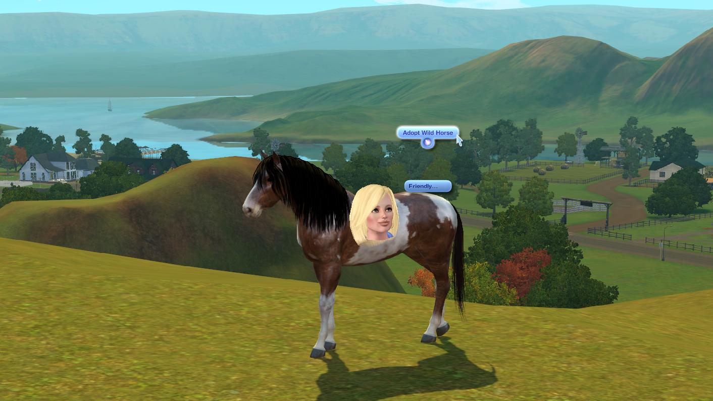 Sims 3 Adopt Wild Horse