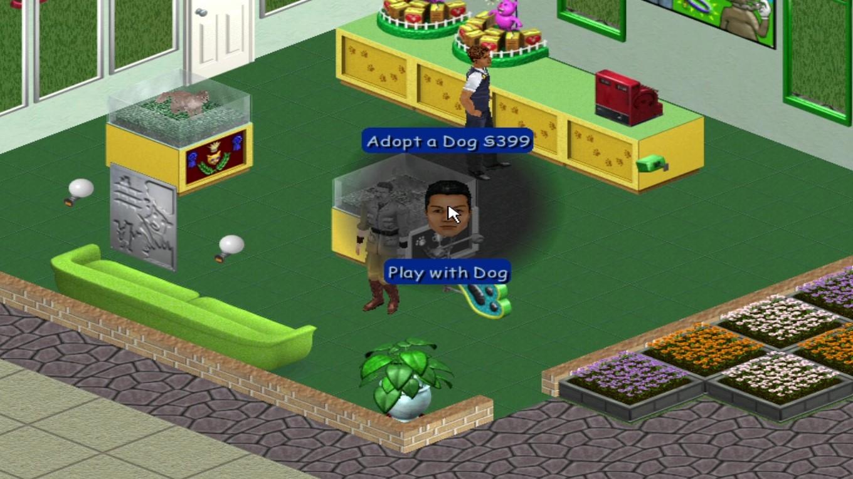 Sims 1 Adopt a Dog