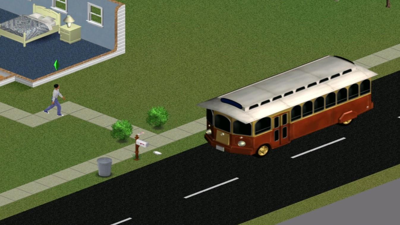 Sims 1 Take Shuttle to Pet Paradise