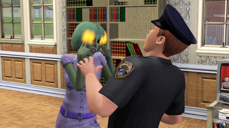 Sims 3 Alien Powers