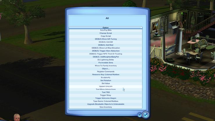Sims 3 Spawn Unicorn Debug