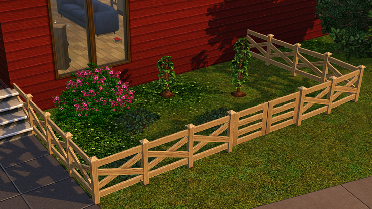 Sims 3 Zombie Fence