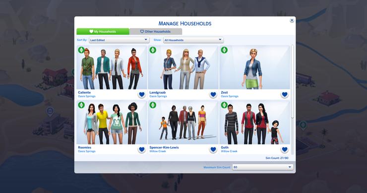 Sims 4 Genderbent Base Game