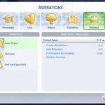 Sims 4 Inner Peace Aspiration